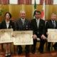 叙勲の栄誉、家族と喜ぶ=菊地、城田、ヒサノ3氏=在聖総領事「日系社会のお手本」
