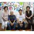 (左から)吉加江さん、竹下会長、戸切さん、高橋さん