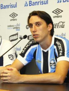 クラブW杯で奮戦し、評価を大きく上げた、センターバックのジェロメル(Lucas Uebel/Gremio FBPA)