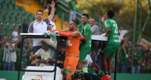 全国選手権最終戦に勝ち、8位に食い込む大健闘を見せたシャペコエンセ(Sirli Freitas)