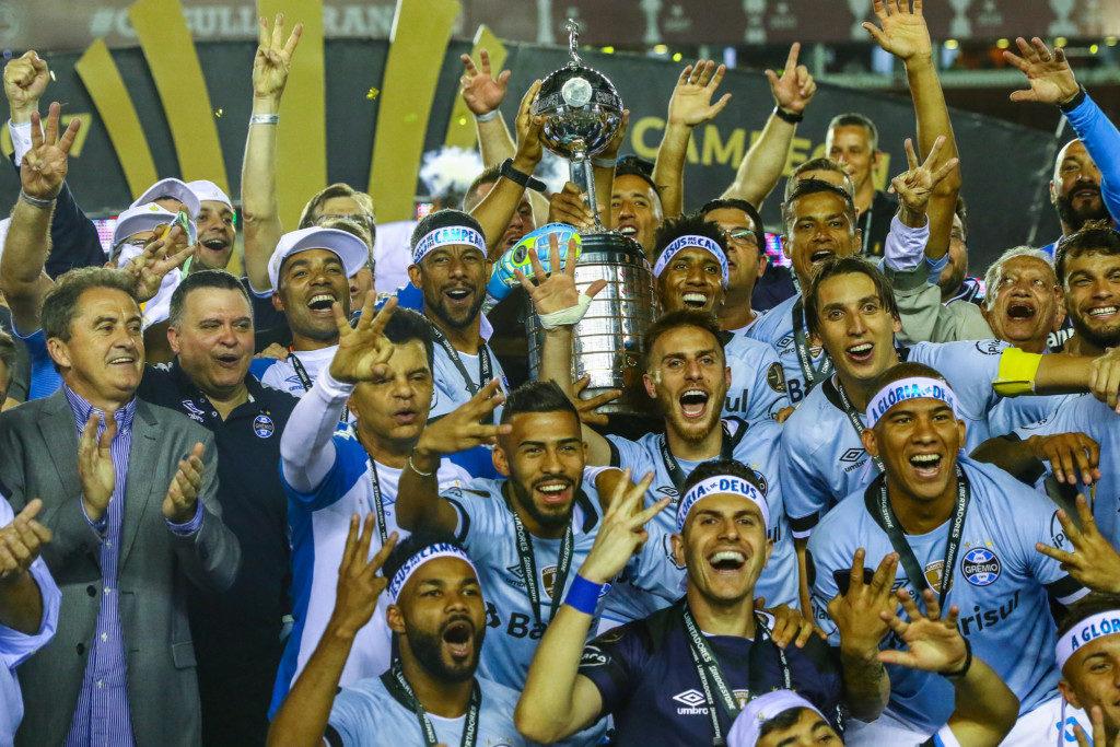 今年のリベルタ杯はブラジルのグレミオが、22年ぶり3回目の優勝を果たした。(Lucas Uebel/Gremio FBPA)