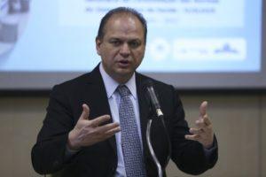 リカルド・バロス保健相(José Cruz/Agência Brasil)