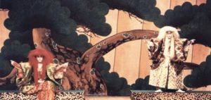 藤間流舞踊学校による歌舞伎