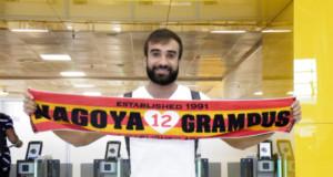 グアルーリョス空港から日本に出発する直前のガブリエル・シャビエル