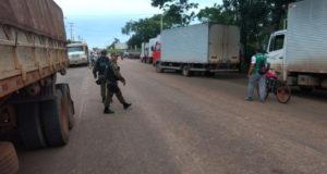 ブラジル北部のパラー州で国境警備を行う軍警(参考画像・SASCOM SEFA)