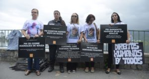 昨年リオ市で行われた、治安改善を訴えるデモ(参考画像・Tomaz Silva/Agencia Brasil)