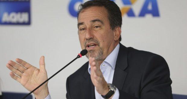 ジルベルト・オッキCAIXA総裁(Antonio Cruz/Agência Brasil)