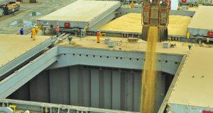 ブラジル経済の中心地の一つ、パラナグア港(Ivan Bueno/APPA)