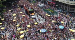 今年のサンパウロ・ストリートカーニバルは大盛況だった(参考画像・Vagner Medeiros/SMPR)