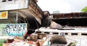 事故現場のエイション。奇跡的に一人も犠牲者は出なかった(Dênio Simões/Agência Brasília)