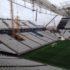 建設中のアレーナ・コリンチャンスの様子(Danilo Borges e Gabriel Fialho/Portal da Copa/ME、15/4/2014)