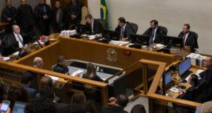 STJでの審理の様子(6日、Lula Marques/Liderança do PT na Camara)