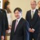 日系代表に励ましのお言葉=皇太子殿下が首都の大使館で=110周年にご関心示され