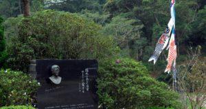 憩の園にあるドナ・マルガリーダの胸像