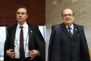 バローゾ判事とメンデス判事(Carlos Humberto/SCO/STF)