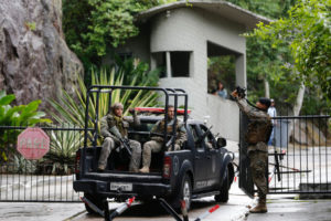 リオ市南部の州軍警特殊作戦実行部隊本部(Tania Rego/Agencia Brasil)
