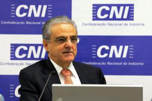 CNI会長ロブソン・アンドラーデ氏(Miguel Angelo/CNI)
