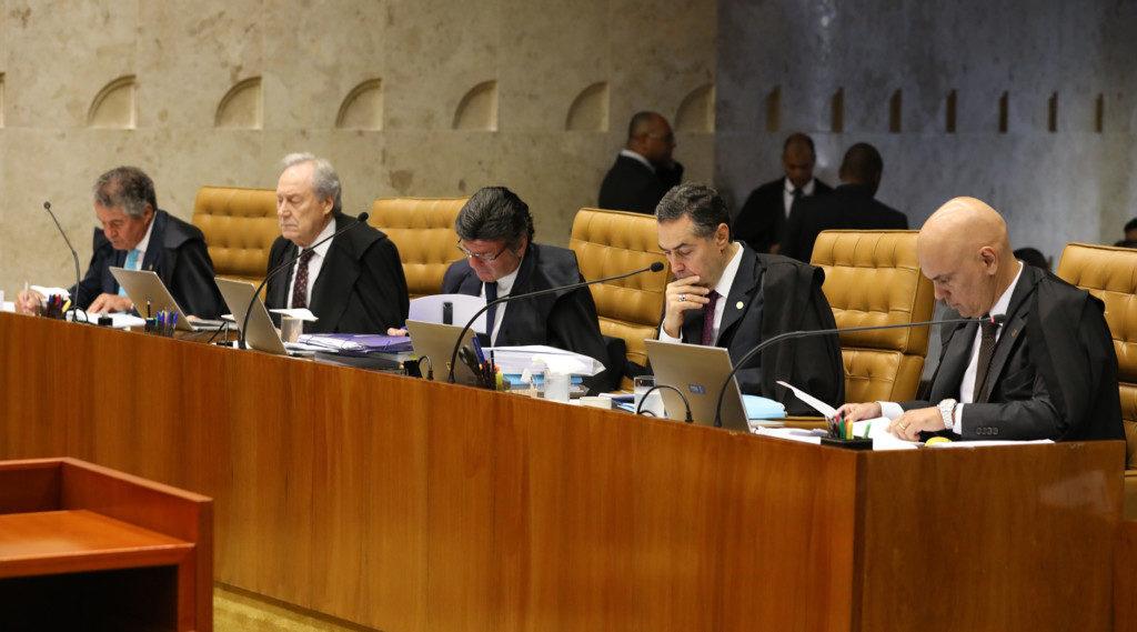 4日の最高裁(Lula Marques/Liderança do PT na Câmara)