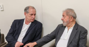 シロ・ゴメス氏(左)とルーラ元大統領(右)(Ricardo Stuckert/Instituto Lula)