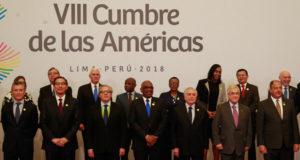 米州首脳会議の主要参加メンバー(Foto: Clauber Cleber Caetano/PR)