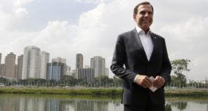 サンパウロ市長の職を15カ月で辞し、サンパウロ州知事選に出馬するドリア氏(H_BALLARINI)