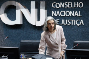 3日のカルメン・ルシア最高裁長官(Luiz Silveira/Agência CNJ)