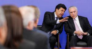 3月28日のテメル氏(Marcos Corrêa/PR)