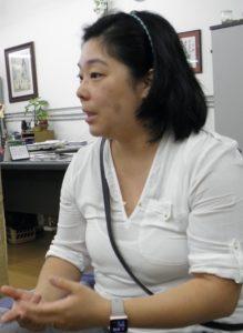 研究について話す中川さん