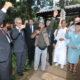 ニッポン移住者協会=日本庭園修復、上棟式=6月にUSPへ再贈呈