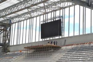 スタジアムだけはギリギリ間に合ったが、「W杯を利用しての都市整備」は多くが実現していない(参考画像・Clube Atletico Paraneense/Portal da Copa)