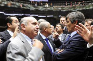 下院での福音派議員たち(Lula Marques/Agência PT)