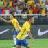 昨年1月、ブラジル国内チーム所属選手だけで構成された代表チームで試合に出場したドゥドゥ(Ricardo Stuckert/CBF)