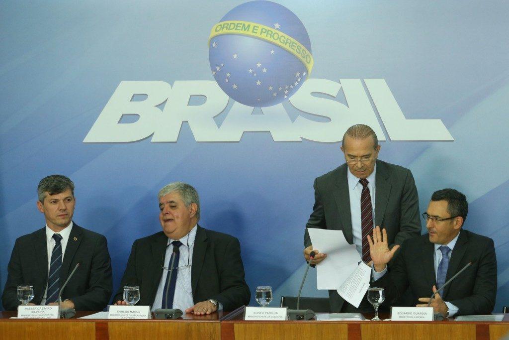 24日夜には、主要閣僚が「トラック運転手代表者との合意が成立した」と発表していたが…(Valter Campanato/Agencia Brasil)