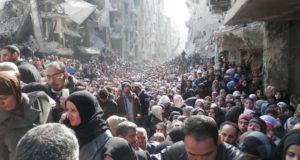 シリアでのISILのテロの様子(UNRWA 30/1/2014)