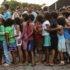 ロライマ州ボア・ヴィスタの収容所に住むベネズエラ人移民達(Marcelo Camargo/Agencia Brasil)