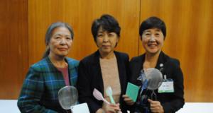 (左から)小笠原さん、森さん、大塚さん