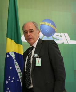 辞意を表明したペドロ・パレンテPb総裁(José Cruz/Agência Brasil)