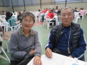 池田ジョルジさんと藤浦ローザさん