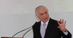 6日のテメル大統領(Cesar Itiberê/PR)