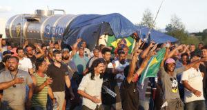 5月29日のリオでのストの様子(Tomaz Silva/Ag. Brasil)