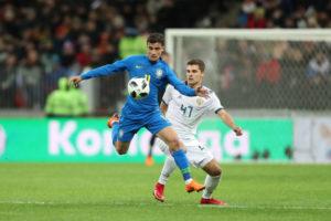 3月にはロシアともモスクワで試合をした。決勝の会場は同じルジニキ・スタジアムだ。(Lucas Figueiredo/CBF)