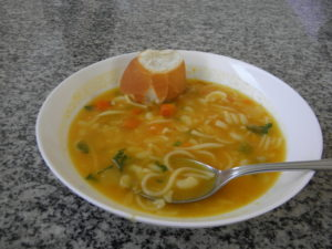 カーザ・ダ・ソパのスープ