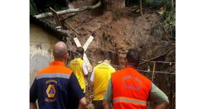 区画整備計画が不備で災害危険地帯に家が建つケースが後を絶たない。(参考画像・Coordenadoria Estadual de Defesa Civil)