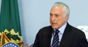テメル大統領(Antonio Cruz/Agência Brasil)