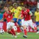 W杯=ブラジル代表引き分け発進=スイスを相手に1対1