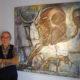 抽象画の巨匠フラビオ・シロー=『雨月物語』をテーマに制作=東京の個展で自らのルーツを認識