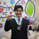 日本のアマチュア歌謡祭で優勝=ブラジル代表、中島幸夫さん
