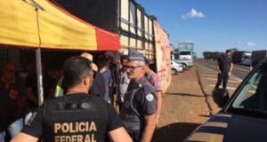 5月末に発生したトラックストはブラジル社会に大きな影響を与えた。(参考画像・Secom PF)