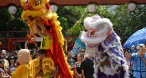 サンパウロ市で行われた、中国の新年「春節」を祝う行事(参考画像・Rovena Rosa/Agencia Brasil)