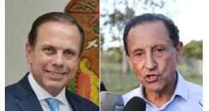 ドリア氏(Clóvis Miranda-SECOM Marcello)とスカッフィ氏(Casal Jr./Agência Brasil)